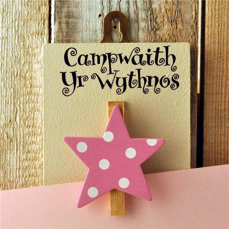 Masterpiece Welsh (pink spotty)