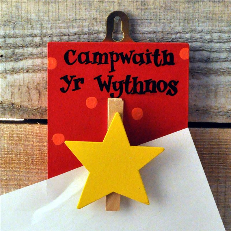 Order Masterpiece Welsh yellow star