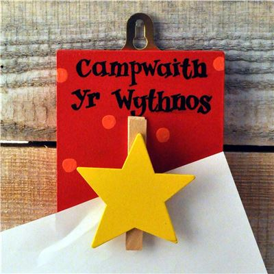 Masterpiece Welsh yellow star