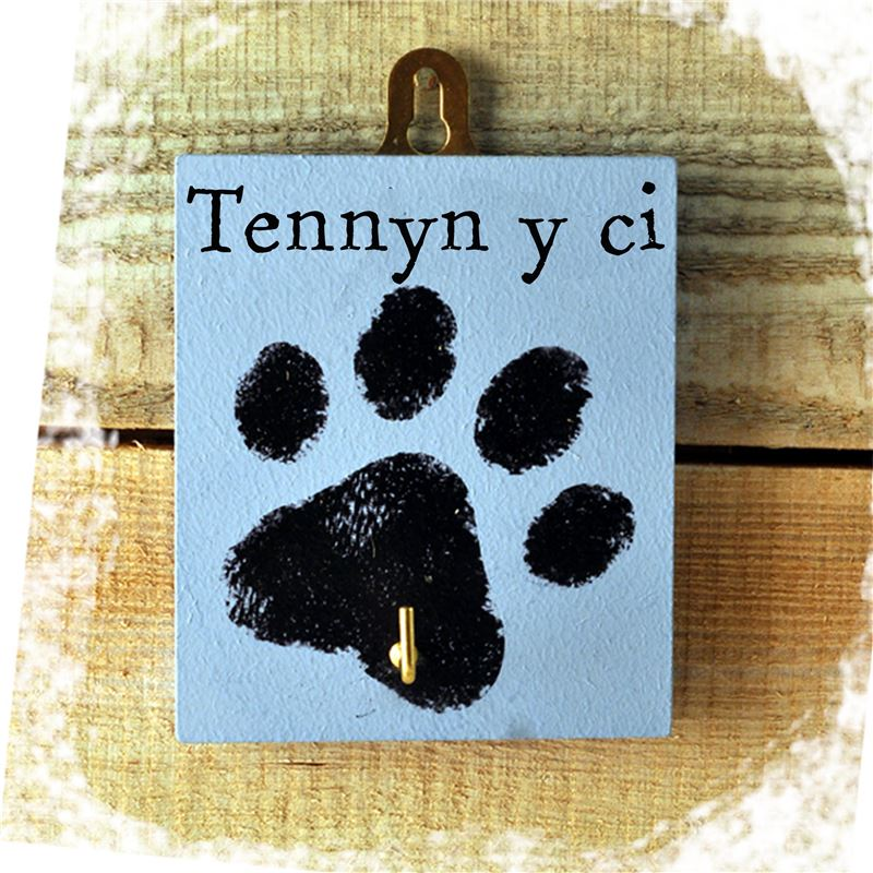 Order Tennyn y ci - the dogs lead (blue)