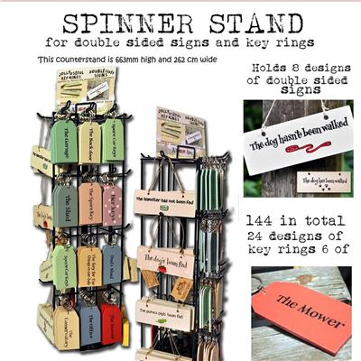 Spinner stand